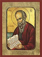 Saint John the Theologian and Evangelist - Byzantine Icon