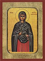 Saint Maria Magdalene - Byzantine Icon
