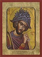 Saint Mercurios - Byzantine Icon