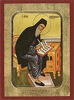 Saint Nikodemos of Mount Athos - Byzantine Icon