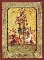 Saint Onouphrios - Byzantine Icon