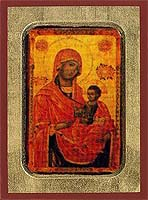 Virgin Eleousa - Byzantine Icon
