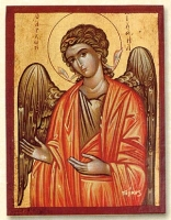 Archangel Michael - Flat Silk Printed Icon