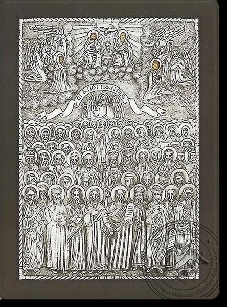 All Saints - Silver Icon