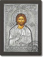 The Pantokrator - Silver Icon