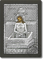 Man of Sorrows - Silver Icon