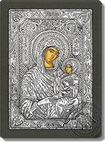 Anne the Mother of Theotokou - Silver Icon