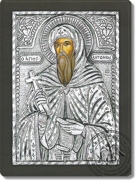 Anthony the Great - Silver Icon