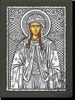 Photine the Samaritan Woman - Silver Icon