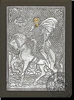 Isidoros of Chios - Silver Icon