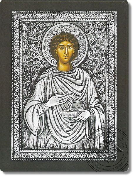 Panteleemon - Silver Icon
