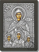 Sophia and her Daughters - Silver Icon