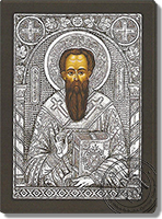 Basil the Great - Silver Icon