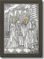 The Presentation of the Christ in the Temple - Silver Icon