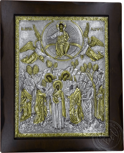 The Ascension - Silver Gold Plated Icon