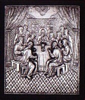 The Last Supper - Silver Icon