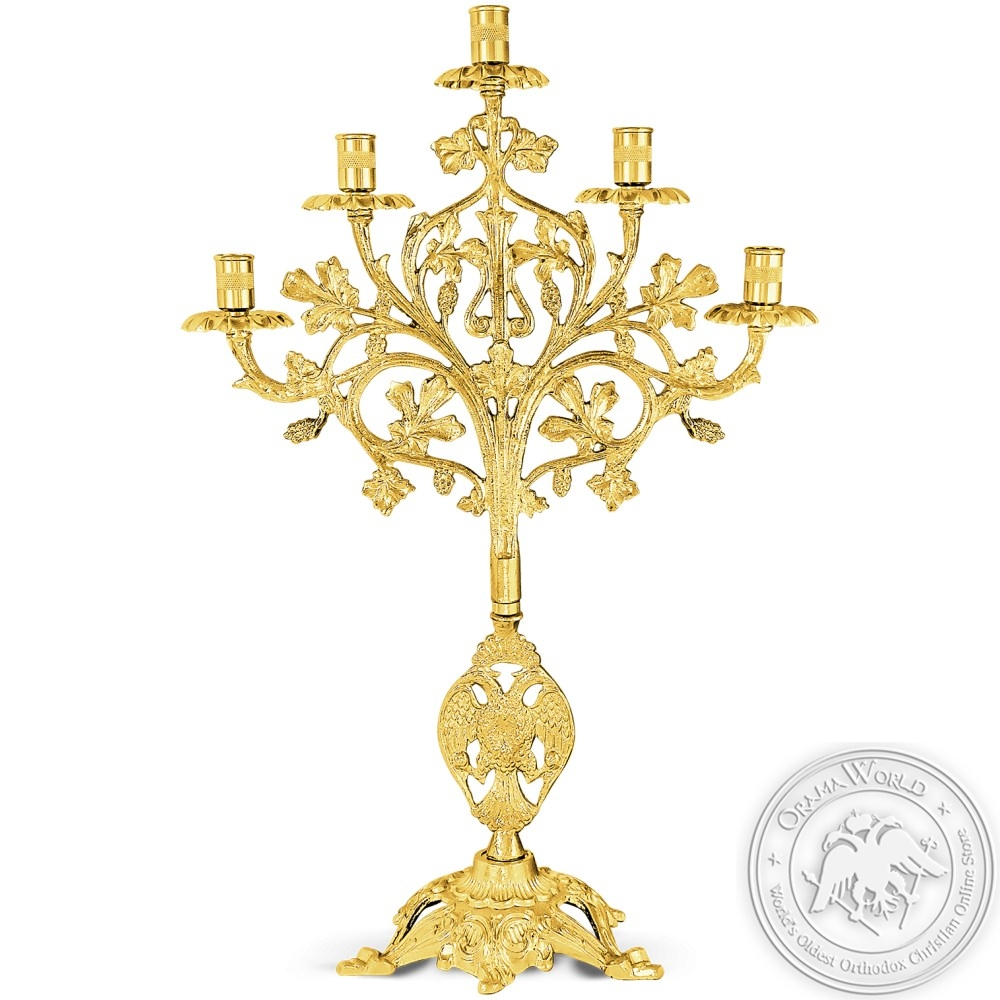 Candlestick Gold Plated