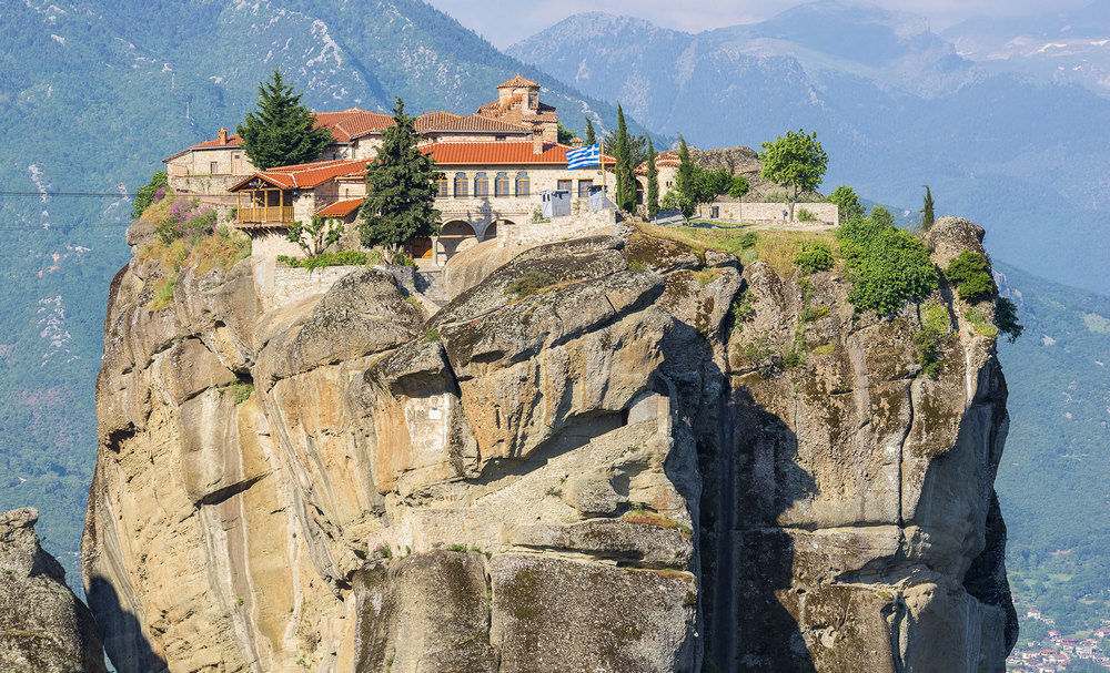 Meteora - The Holy Monastery of HOLY TRINITY