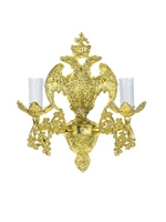 Aplice Aluminium Eagle No2 Gold Plated