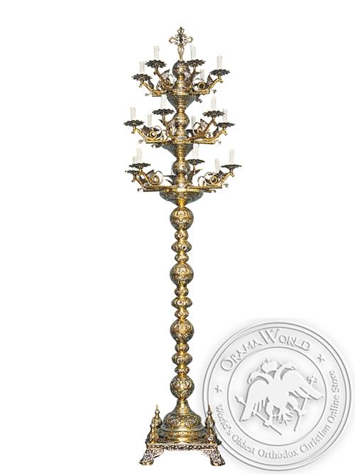 Despotic Candelabrum Bronze No18 Two Color