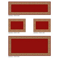 Set of Ecclesiastical Carpets for the Altar in Red Color