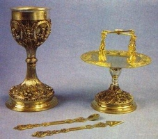 Chalice Set Russian Style Design A