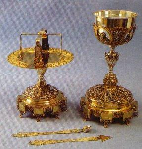 Russian Style Chalice Set Design B
