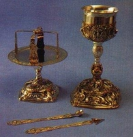 Russian Style Chalice Set Design D