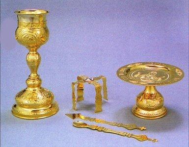 Chalice Set Byzantine Style Design D
