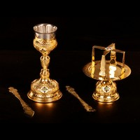 Chalice Set with Enamel - 1003-05