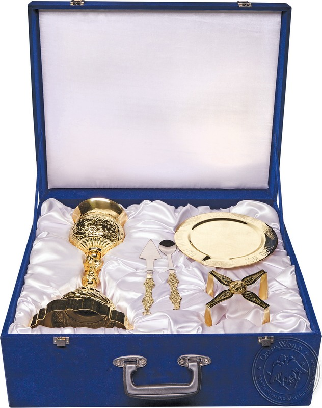 Chalice Set with Suitcase - 0336