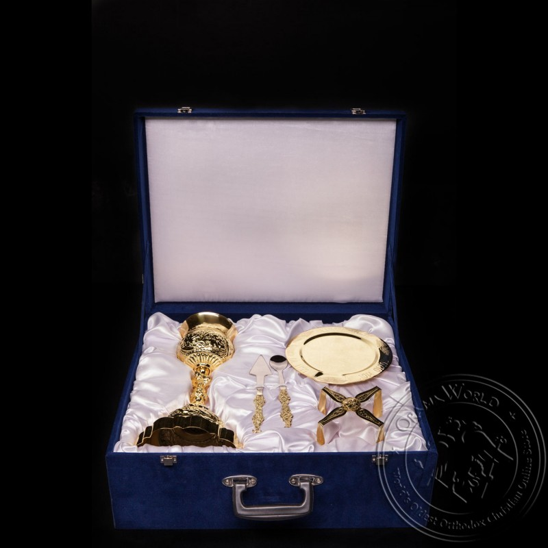 Chalice Set with Suitcase - 1003-16