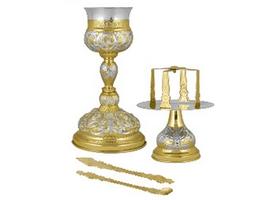 Chalice Set Byzantine Design Representations