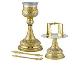Chalice Set Byzantine Design A