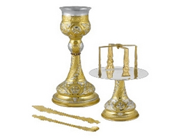 Chalice Set Byzantine Design B