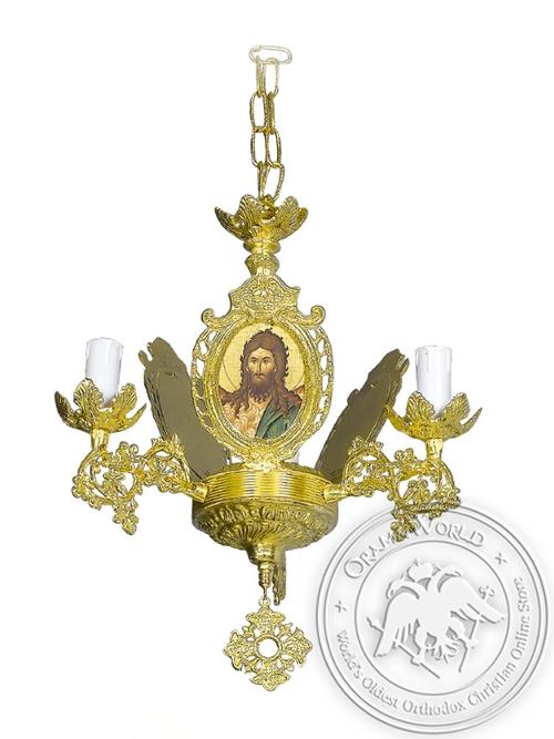 Chandelier Aluminium Byzantine No3 Gold Plated