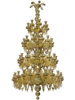Chandelier Athonite Bronze No140 Gold Plated