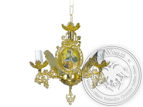 Chandelier Bronze Byzantine No3 Gold Plated
