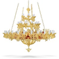Bronze Chandelier and Choros Byzantine