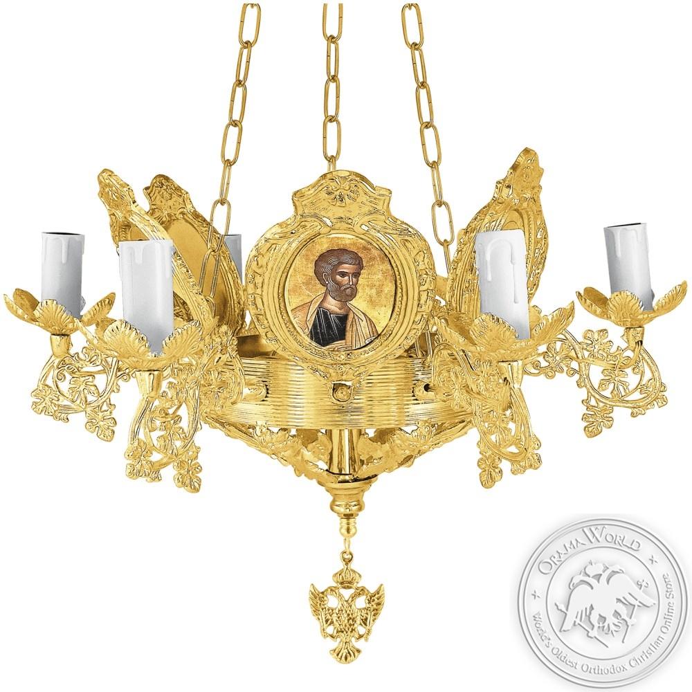 Bronze Chandelier No7 Byzantine