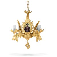 Chandelier Aluminium No4 Gold Plated