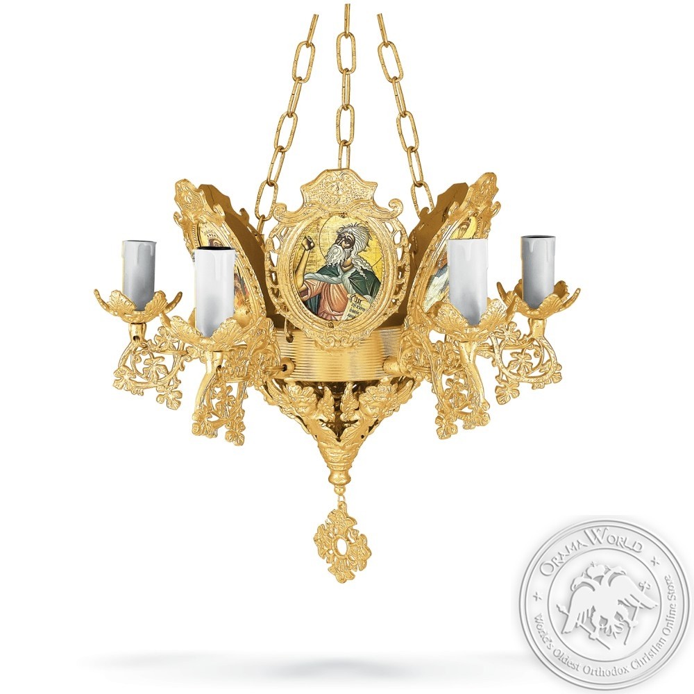 Chandelier Aluminium No7 Gold Plated
