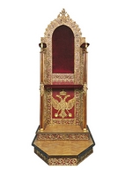 Bishop's Throne Gold Plated