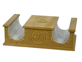 Candle Icon Stand & Coin No2