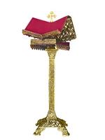 Gospel Stand Aluminium B Gold Plated