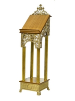 Icon Stand Aluminium Gold Plated