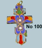 Pectoral Cross Russian Design - 100R