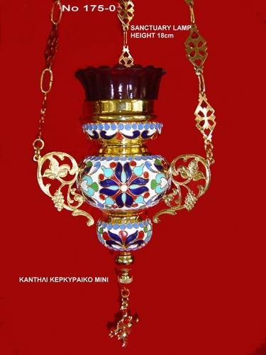 Oil Candle Kerkiraiko Design - 1750