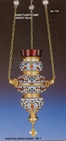 Oil Candle Kerkiraiko Design - 176