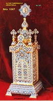 Altar Tabernacle With Enamel - 197